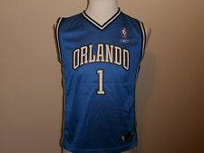 ORLANDO MAGIC #1 MCGRADY NBA BLUE JERSEY REGULAR SEASON REEBOK BOYS L(14-16)