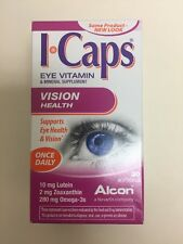 ICaps Alcon Lutein & Omega-3 EXP 9/2017