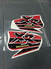 XR 600  400 XR200 XR250 XR400 XR600 FUEL graphics DECALS STICKERS GAS TANK
