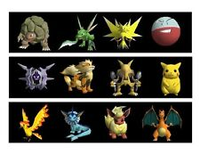 Pokemon edible cake strips cake topper decorations