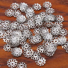 1200x Flower Beads End Caps Jewelry Findings 9mm 160407
