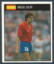 ORBIS 1990 WORLD CUP COLLECTION-#163-SPAIN-MIGUEL SOLER