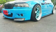 GT STYLE CARBON SIDE SKIRT EXTENSION SPOILER FOR BMW E46 M3 ONLY