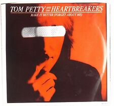 TOM PETTY & HEARTBREAKERS: Make it Better (Forget About Me) NM 45 w/ PS USA OG