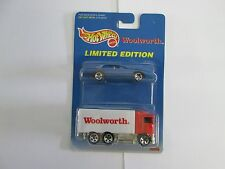 1997 Hot Wheels 2 Pack Woolworth Hauler with Pontiac Firebird
