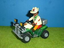 Forscher Ouard aus Set 4176 mit Motor Playmobil 005