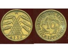 ALLEMAGNE 10  reichspfennig  1930 A  ( bis )