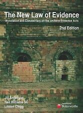 Used Book:  New Law Of Evidence : Annotation & Commentary On The Uniform Evidenc