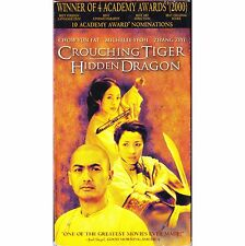 Crouching Tiger, Hidden Dragon (VHS, 2001) English Dubbed