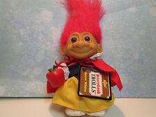 "SNOW WHITE - 5"" Russ Story Book Troll Doll - NEW IN ORIGINAL WRAPPER"