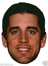 AARON RODGERS Superbowl MVP Green Bay Packers Big Head Window Cling Sticker -NEW
