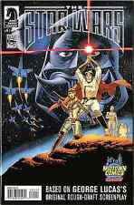 STAR WARS GEORGE LUCAS DRAFT 1 JOHN CASSADY MIDTOWN VARIANT NM+