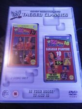 WWE Tagged Classics IN YOUR HOUSE 13 and 16 WWF PAL UK 2 Disc Set