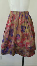 DKNY Multi Colored Pleated skirt Size 4