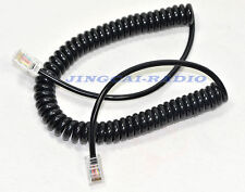 New! RJ45 8PIN To 8PIN Mic Cable Cord For Icom Microphone HM-133 HM-133V HM-98