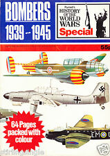 Purnell's History: World Wars bonus Special: BOMBERS 1939-1945 Fair Condition
