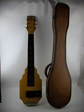 Vintage 1940's Lap Steel Guitar SERENADER 6-String, with GEIB Case, for PARTS