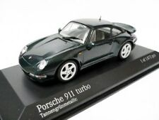 RARE MINICHAMPS PORSCHE 911 993 TURBO FIR GREEN METALLIC 1:43 MINT 1/ 1444
