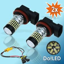 2x H8 78x 3014SMD CanBus LED Xenon Look Weiß Nebelscheinwerfer AUDI BMW SEAT VW