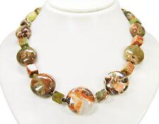 Außergewöhnlich Luxus Halskette aus Imperial-Opal in Rad-, Würfel- und Kugelform