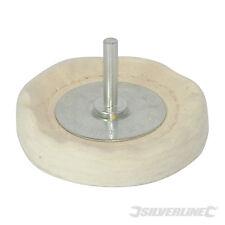 Silverline 105882 Loose Leaf Buffing Wheel 75 x 12mm