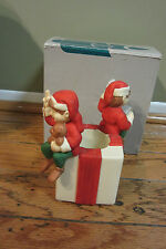 NIB PARTYLITE SANTA'S ELVES VOTIVE CANDLE HOLDER P0134 TEALIGHT