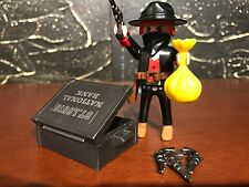 Playmobil 3814 - Western Outlaw St. Louis Bank Robber  - 95% Complete - NO BOX!!