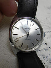 CARDINAL Wristwatch 19J Shockproof Working Mens Watch Silvertone