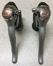 SHIMANO DURA ACE ST 7400 SHIFTER SET DOUBLE 8 SPEED