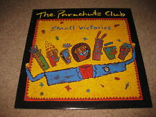 Lot of 2 The Parachute Club Vinyl LP Records - Small Victories & Feet of Moon