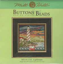 Lighthouse Mill Hill Buttons & Beads Cross Stitch Kit