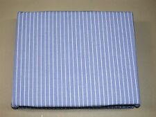 """(1) Tommy Hilfiger Lincoln Avenue Bed Skirt ~ Blue Stripe ~ 14"""" Drop ~ King  NEW"""