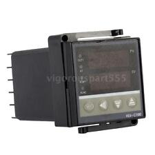 Digital LED PID Temperature Controller Thermostat Heating Control 100-260V A3C6