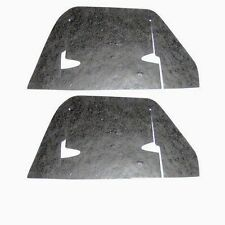 1962-1964 Impala Belair Biscayne A-Arm Flaps Seals w/Staples Pair