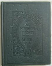 The International Library Of Music For Vocalists Study Material Part 2 1925