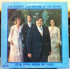 J.D. CAROTA & PRAISE OF HIS GLORY it is well with my soul Private Rock Xian MP3