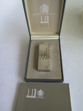 Dunhill ROLLAGAS Silver Lighter - W/ Original Box and Papers