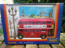 TOMICA DANDY F19 LONDON BUS REGENT vrai 1:43 état neuf en boite jamais ouverte.