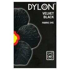 Dylon machine fabric dye – 200g – Velvet Black - FREE P&P