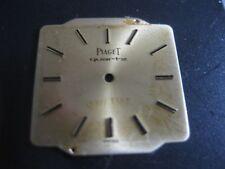 Vintage dialin 18 k gold  for PIAGET quartz Movement  cal 8P1, 8P2