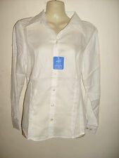 Ladies long Sleeve fitted Blouse Work/office/social/leisure Choose colour Size
