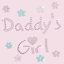 Rhinestone Transfer - Hot Fix Motif - Daddys Girl