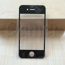 Outer Glass Lens For iPhone 4 4G 4S Replacement Front LCD Screen Cover Black
