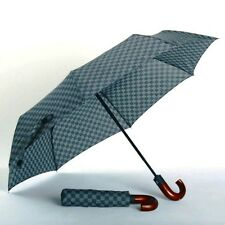 Tag Stuart  Gray Mid-Size Men's Auto Open Men's Umbrella