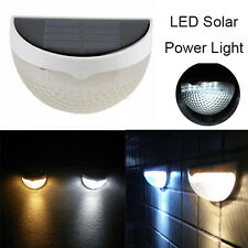 LED white Solar Garden Outdoor Light Waterproof Security Yard Path Decor