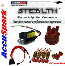 Ford Pinto Electronic Ignition Conversion Kit Plus Leads, Plugs & Cap for Bosch