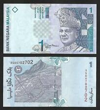 2000 MALAYSIA RM1 POLYMER BANKNOTE (UNC)