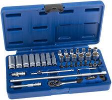 Conjunto de llave de vaso 36 piezas 1/4 pulgadas herramienta nueces caja ratschenkasten