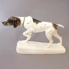Pointer Vintage Dog Figurine Ornament Hertwig Katzhutte German