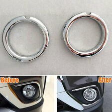 Car Auto Front Bumper Fog Light Lamp Covers Trim Left + Right For Outlander 2016